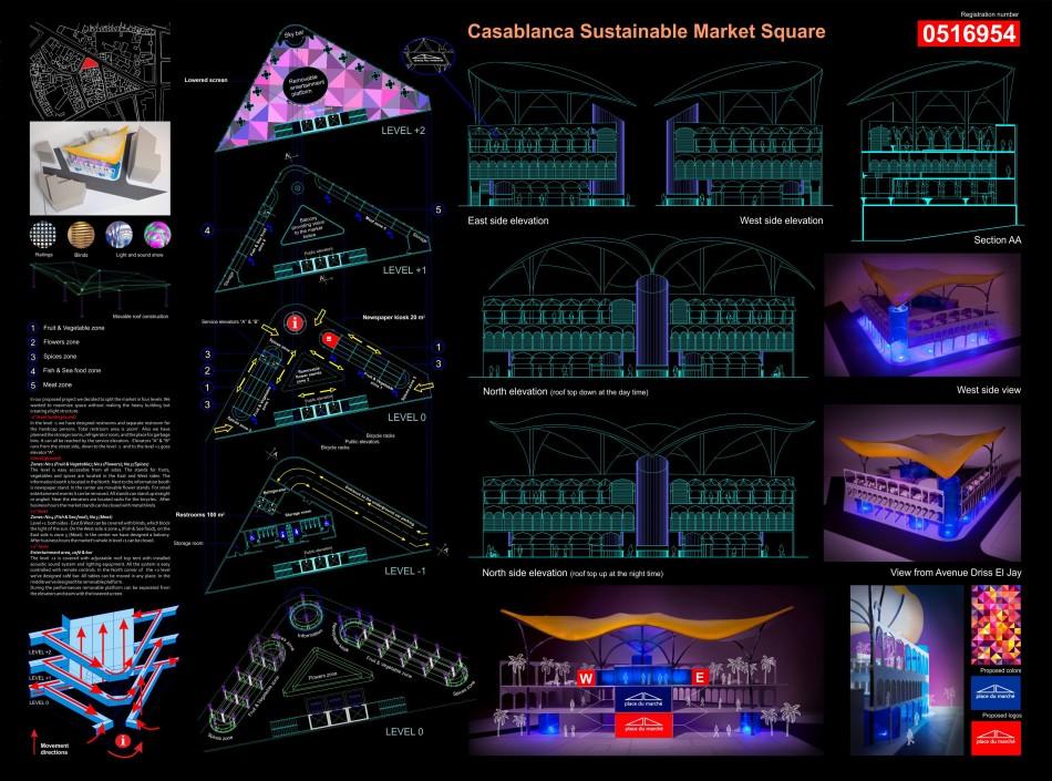 [CASABLANCA] Sustainable Market Square