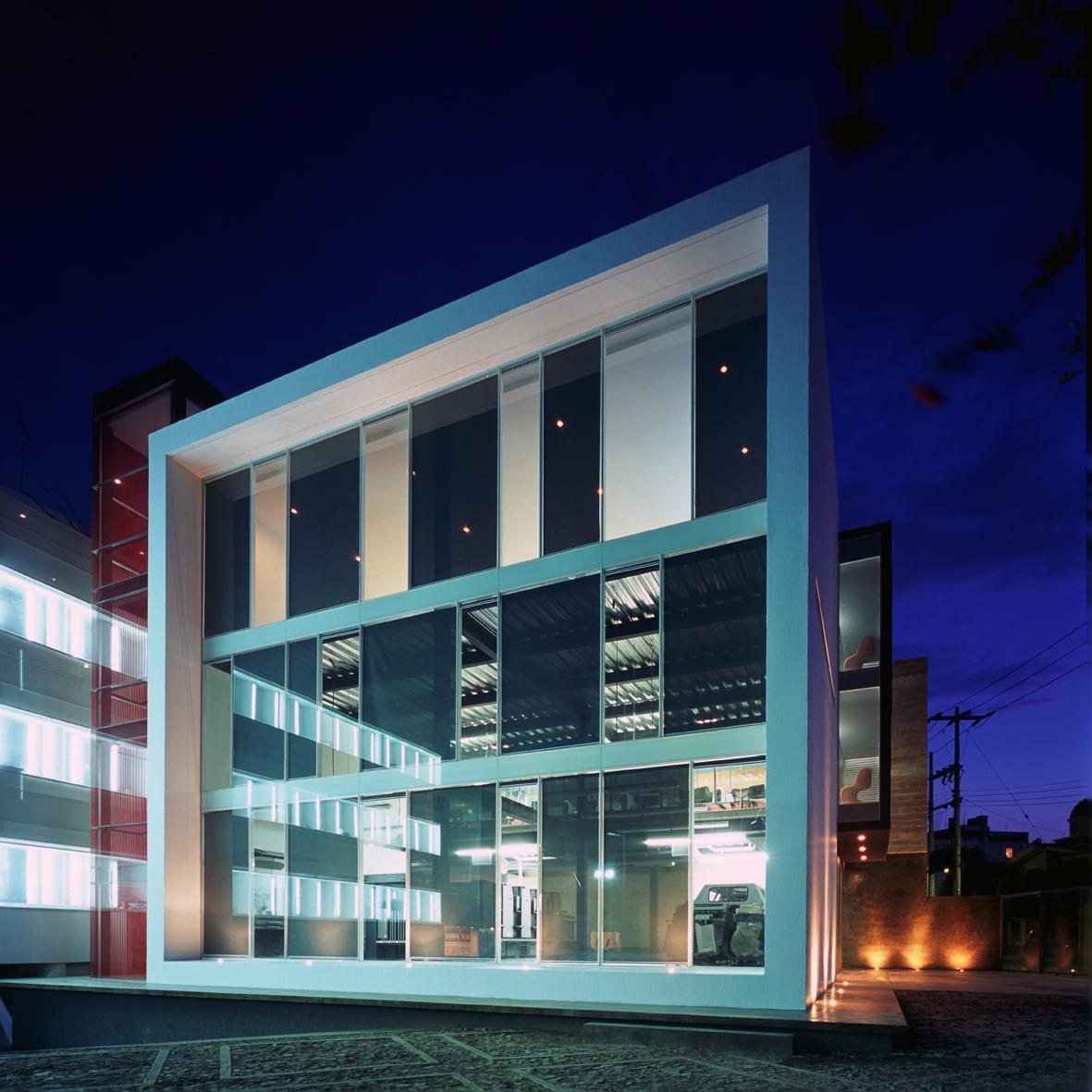 Kp alazraki corporate building ad11 by david basulto my blog for Contemporary office building design