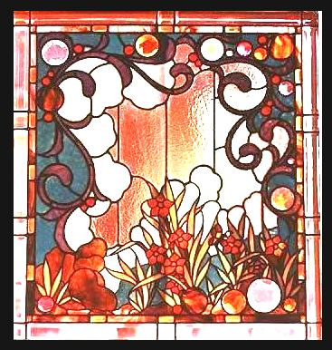 Art Nouveau Stained Glass My Blog