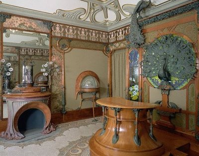 ART NOUVEAU ARCHITECTURE AND INTERIOR DESIGN FURNITURE