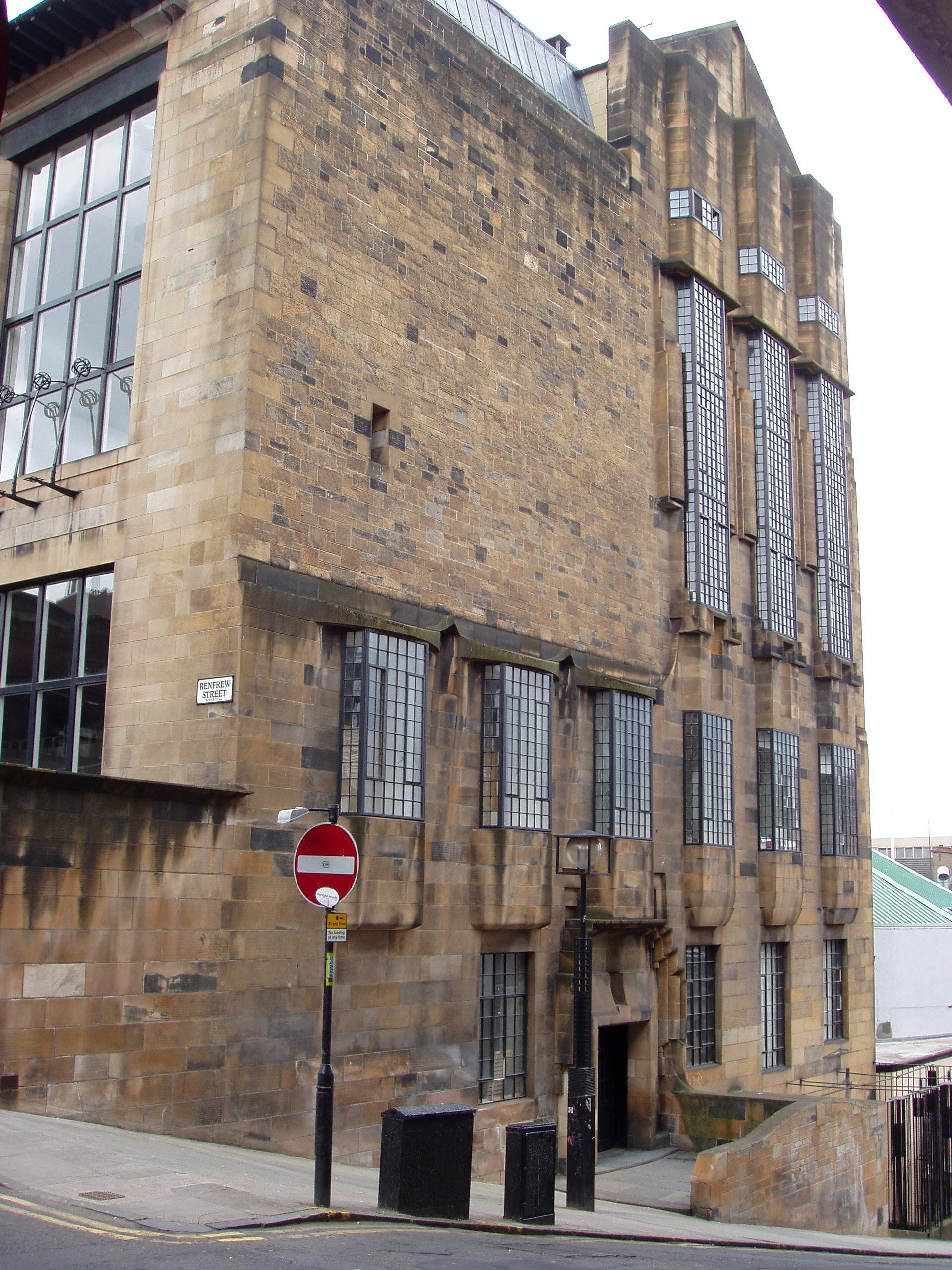 the glasgow school of art redevelopment