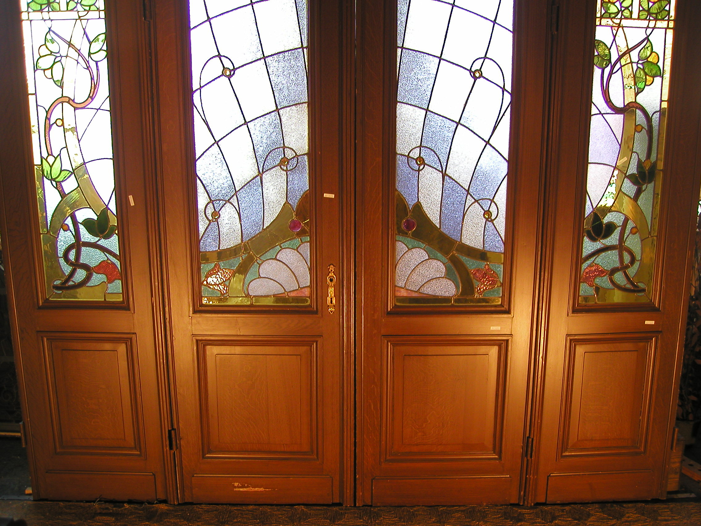 Art nouveau stained glass my blog - Art nouveau art deco ...